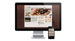 about nuts Webseite und App Screenshots