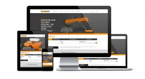 bema Kehrmaschine.de Website responsives Design