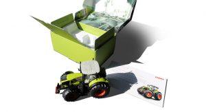 Claas Traktor-Karton Mailing