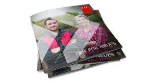 PIC Imagebroschüre Zeit für neues Titelseite