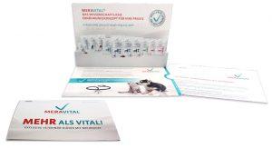 MERAVITAL Mailing zur Markteinführung Spezialnahrung Hunde
