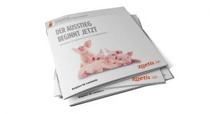 Zoetis Titel Informationsbroschüre zum Kastrationsausstieg bei Ferkeln