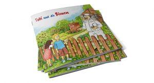 Bayer Crop Science (Bayer Bee Care) Kinderbuch: Tobi und die Bienen Titelseite