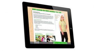 Rheinisch-Westfälischer Genossenschaftsverband e. V. wir-sind-raiffeisen.de Website auf iPad Mockup