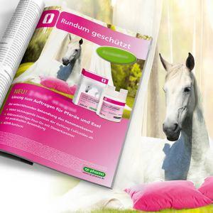 Produkteinführung eines neuartigen Repellents für Pferde