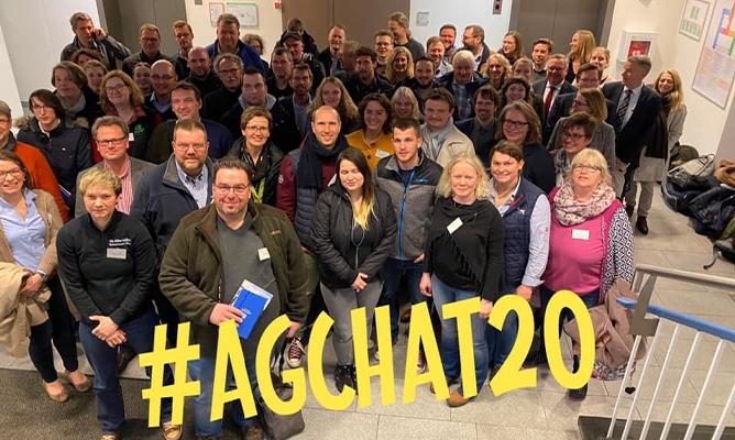 AgrarBloggerCamp Gruppenfoto der Teilnehmer