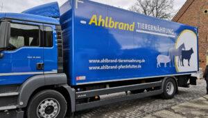 Fahrzeugbeschriftung Ahlbrand
